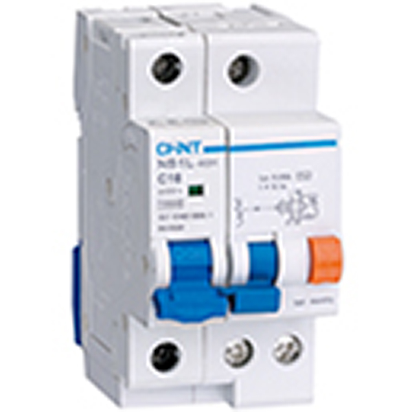 NB1L Residual Current Operated Circuit Breaker with Over-curent Protection